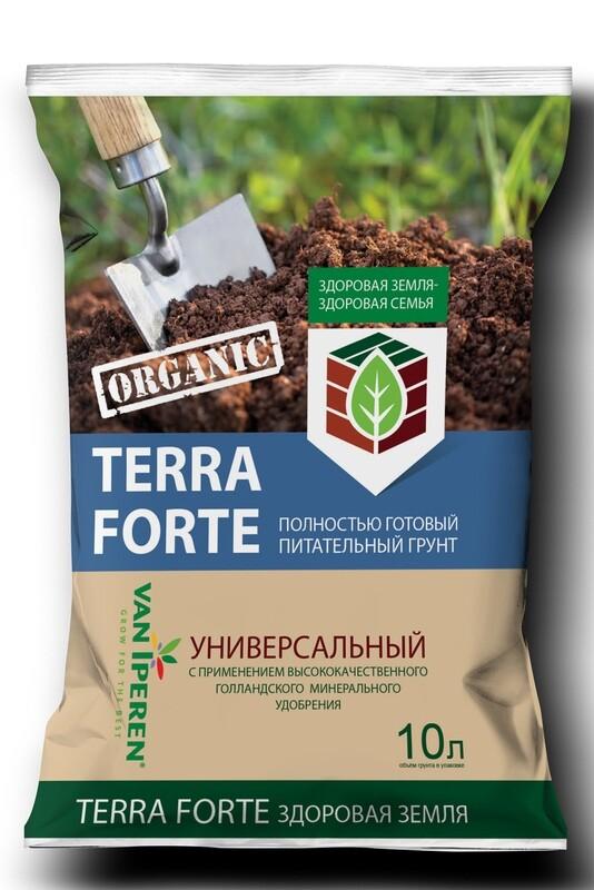 Питательный грунт «Terra Forte® Здоровая Земля® »