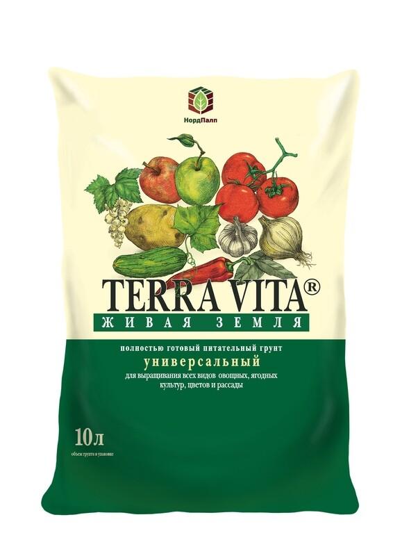 Питательный грунт «Terra Vita® Живая Земля® Универсальный»