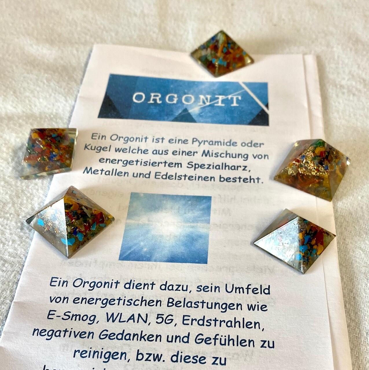 1 x Original Orgonit Pyramide