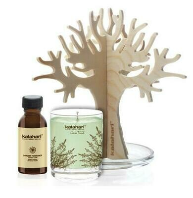 Aromatic Diffuser and Fragrance Candle Combo