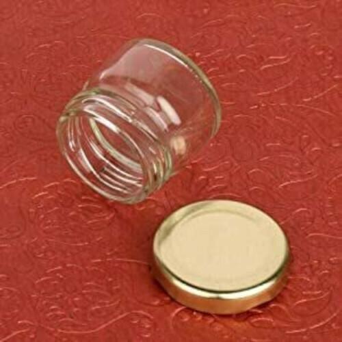 Small Cute Glass Jar