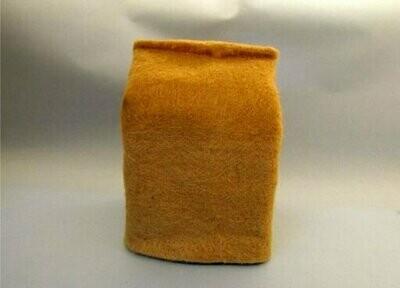 Jute Plain Bio-degradable Square Grow Bag (5inx4inx5in)