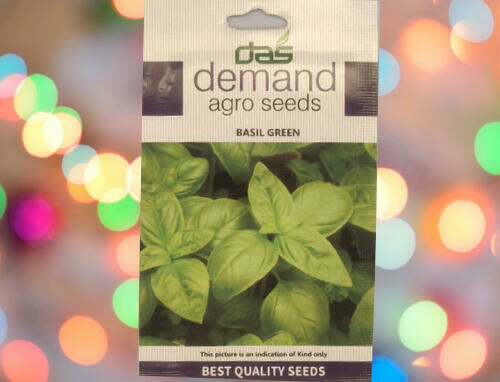 Demand Agro Basil Green