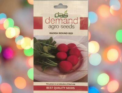 Demand Agro Radish Round Red