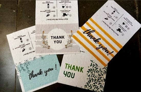 Seeds Card (Thank You)