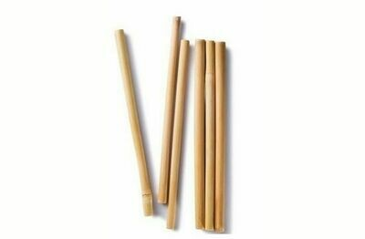 Natural Reusable Bamboo Straw (Single Piece)