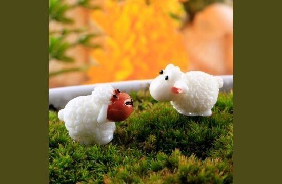 Miniature Sheep Assorted (Single Piece)