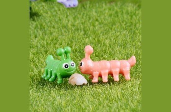 Miniature Caterpillar Assorted (Single Piece)