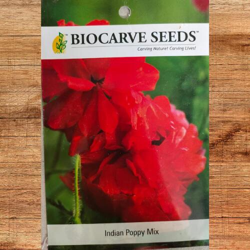 Biocarve Indian Poppy Mix