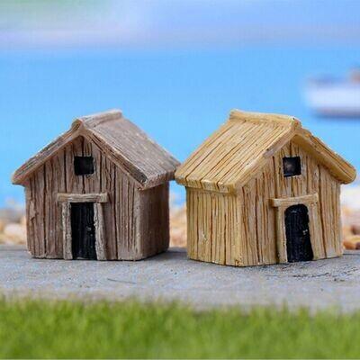 Miniature Hut Assorted (Single Piece)