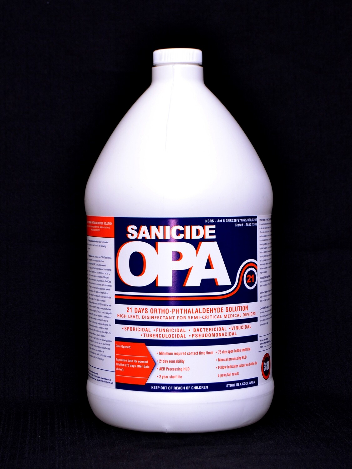 SaniCide 14 day disinfectant