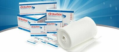 Drawtex Tracheostomy Hydroconductive Wound Dressing