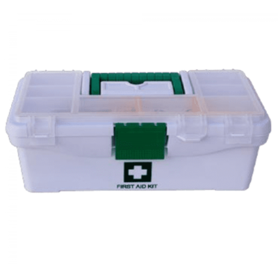 Plastic First Aid Box for Vehicle