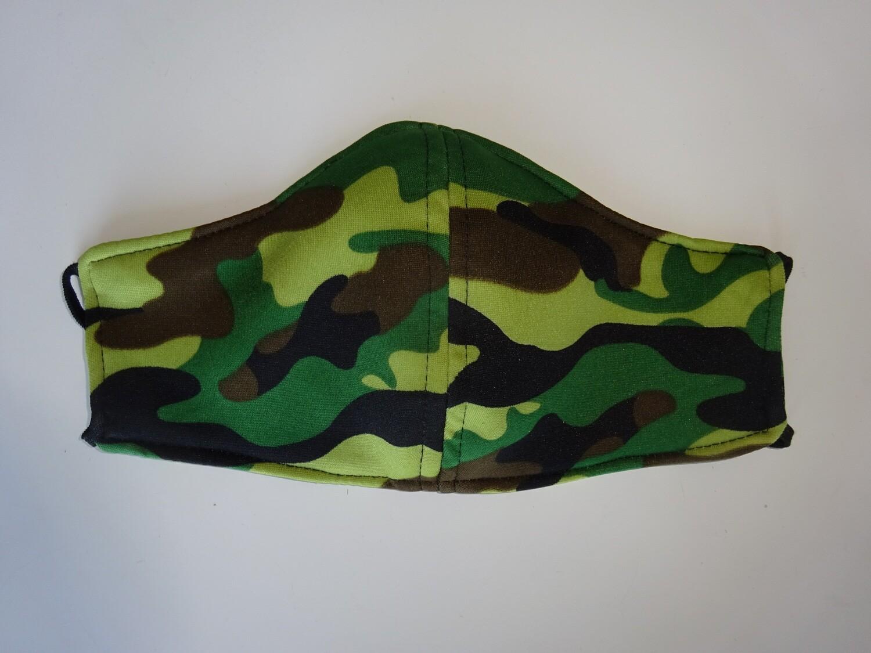 Stoffmaske Tarnmuster Army / Militär