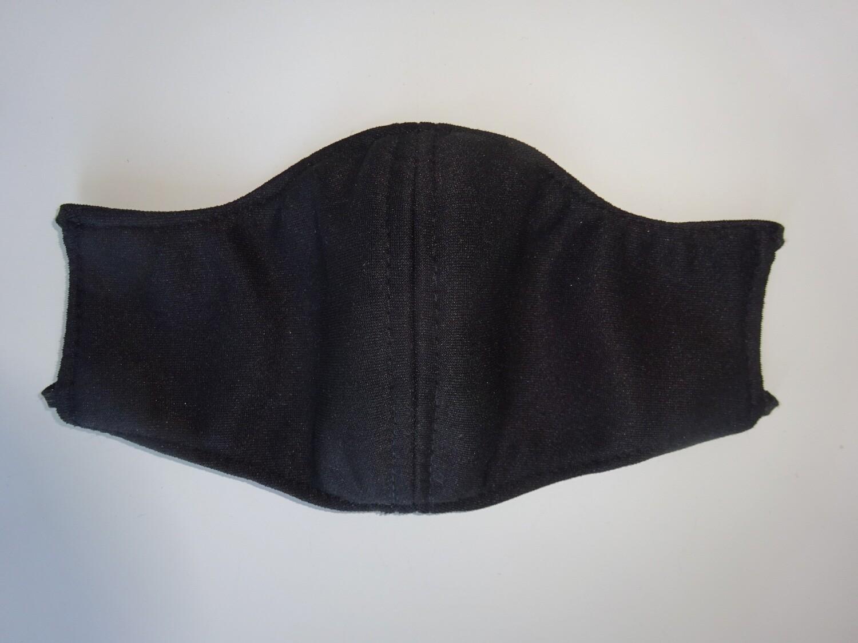 Stoffmaske Black / Schwarz