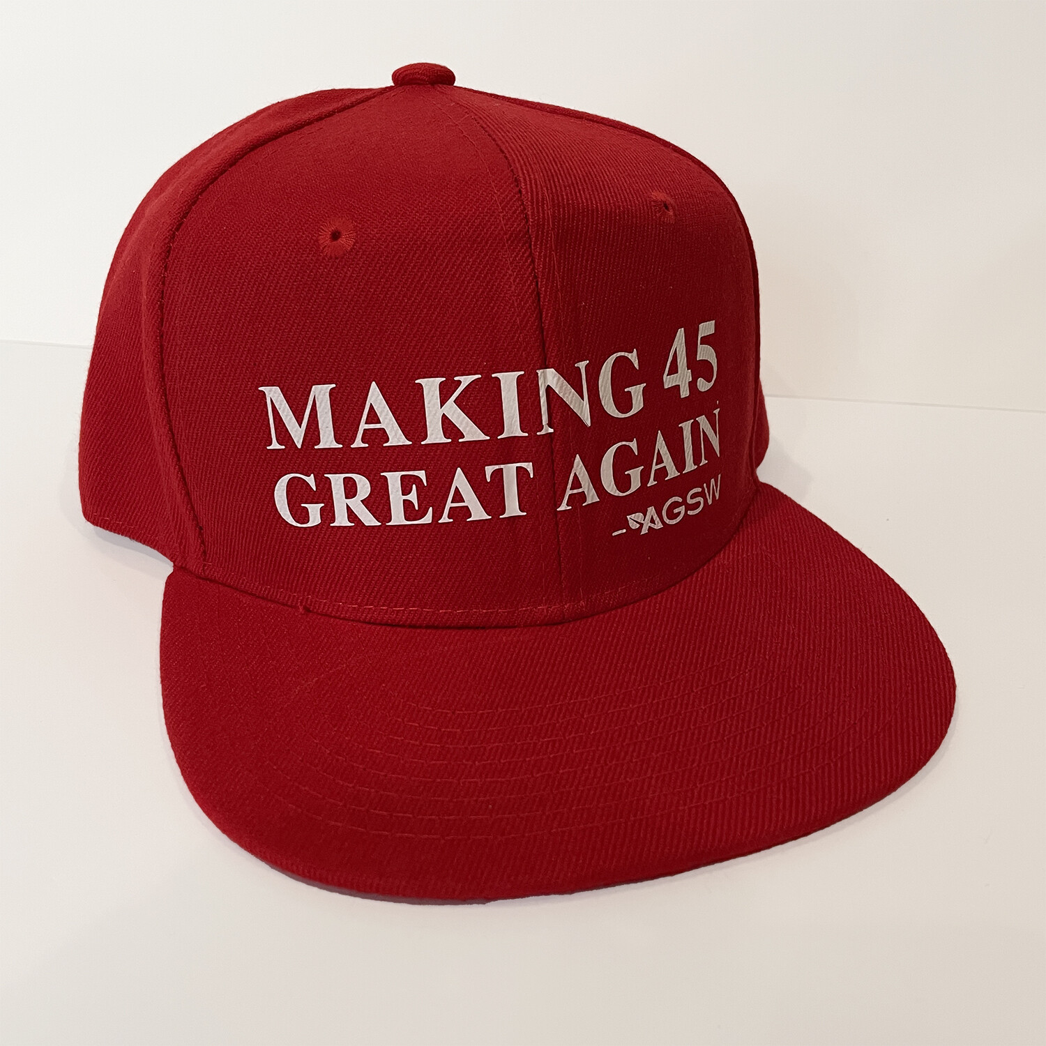 Making the number 45 Great Again Hat