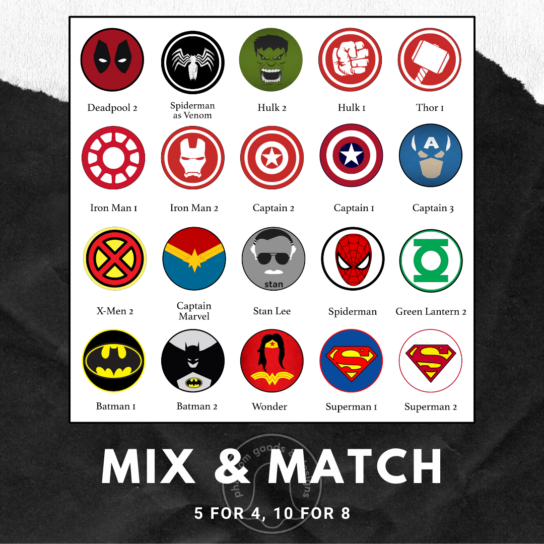 Mix and Match Magnets
