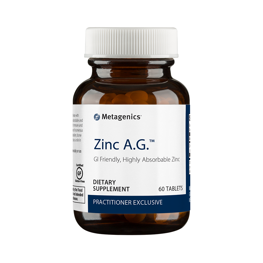 Zinc A.G. 60 ct by Metagenics