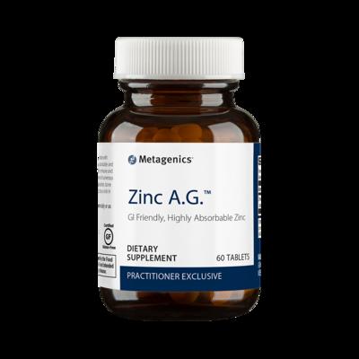 Zinc A.G. 60 ct by Metagenics