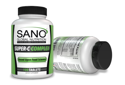 Super C Complex, by Sano Global Nutrition