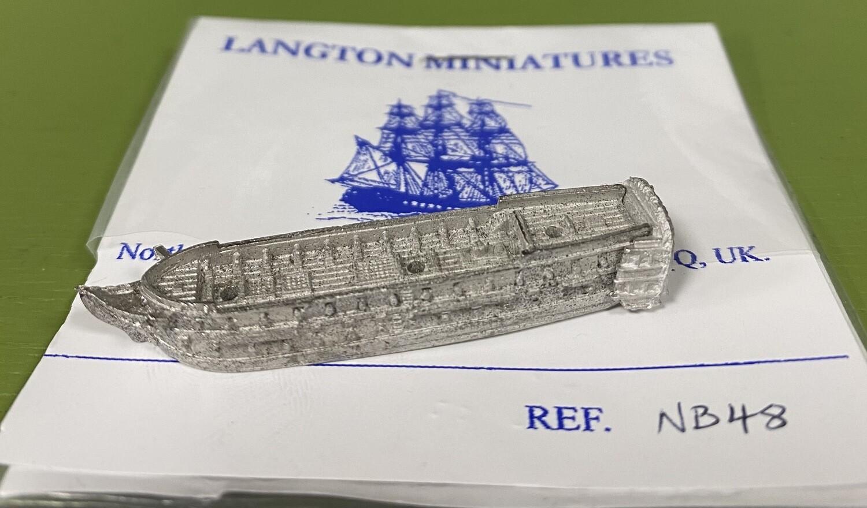 NB48 Glatton 54 at quarters