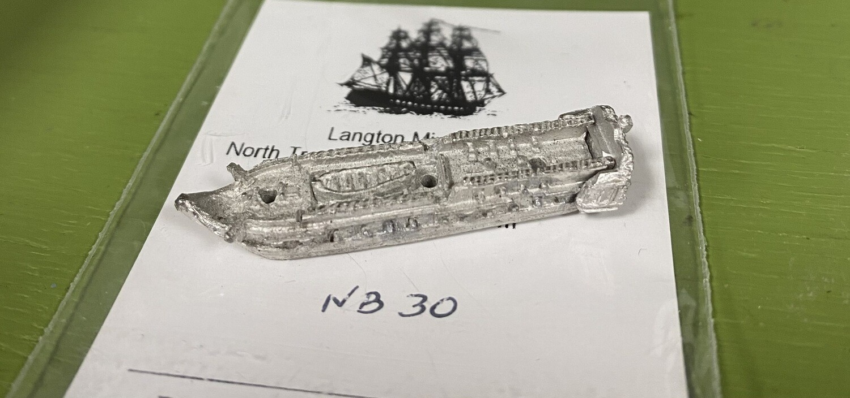 NB30 28 gun frigate at quarters