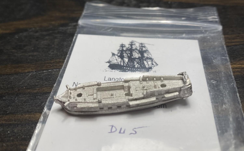 DU5 32 gun frigate