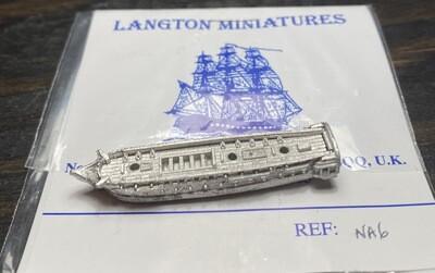 NA6 USS Congress at quarters