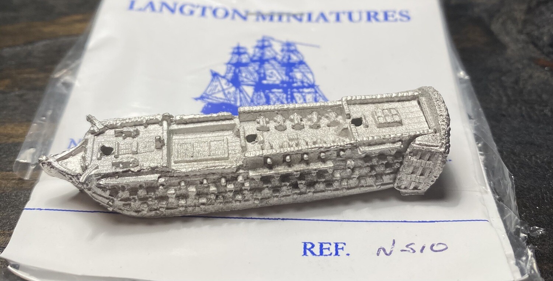 NS10 112 gun at quarters
