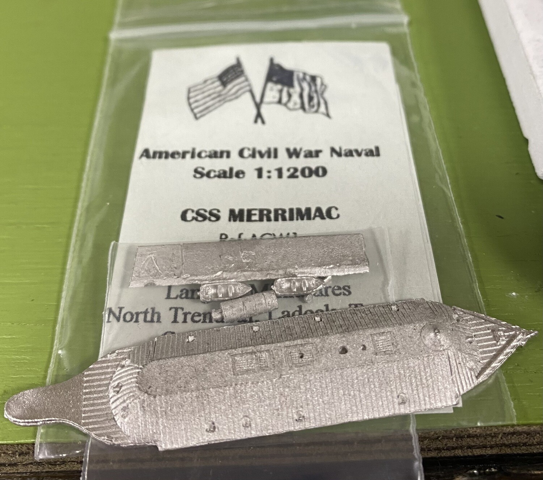 ACW1 CSS Virginia/Merrimac Ironclad