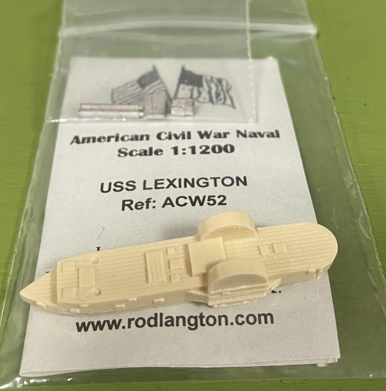 ACW52 USS Lexington timberclad