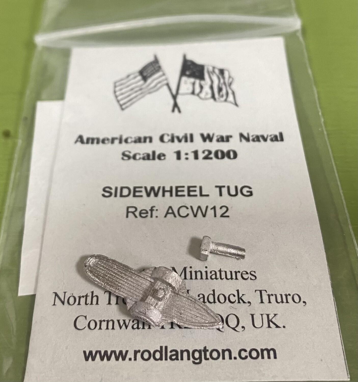 ACW12 Sidewheel tug
