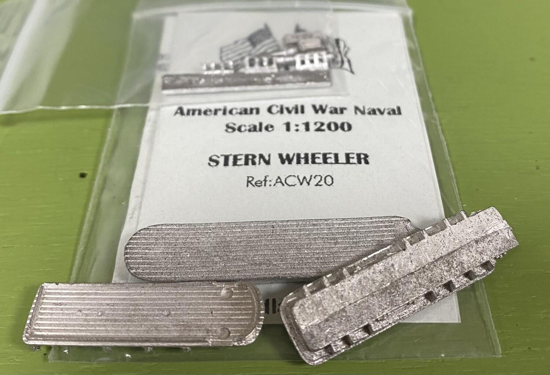 ACW20 Stern wheeler civilian riverboat