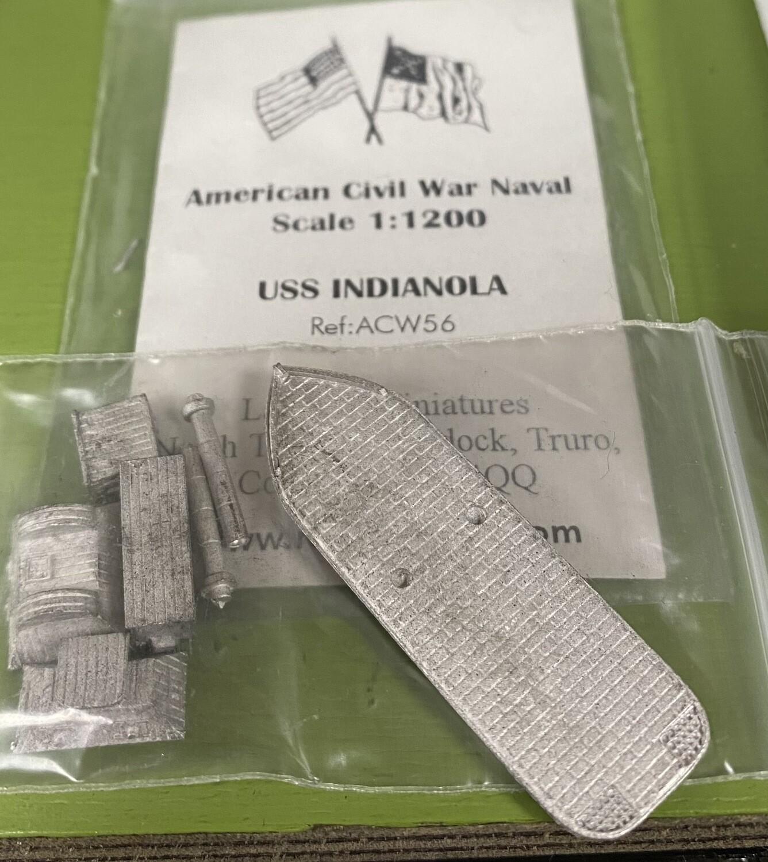 ACW56 USS Indianola casemate ironclad