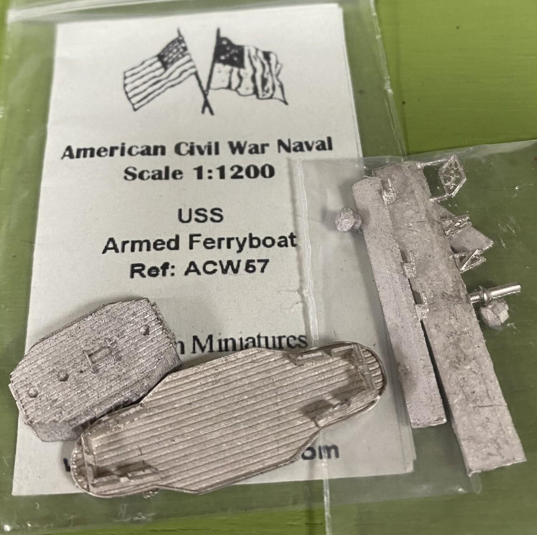 ACW57 USS armed ferryboat