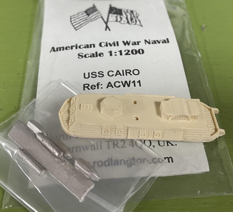 ACW11 USS Cairo ironclad