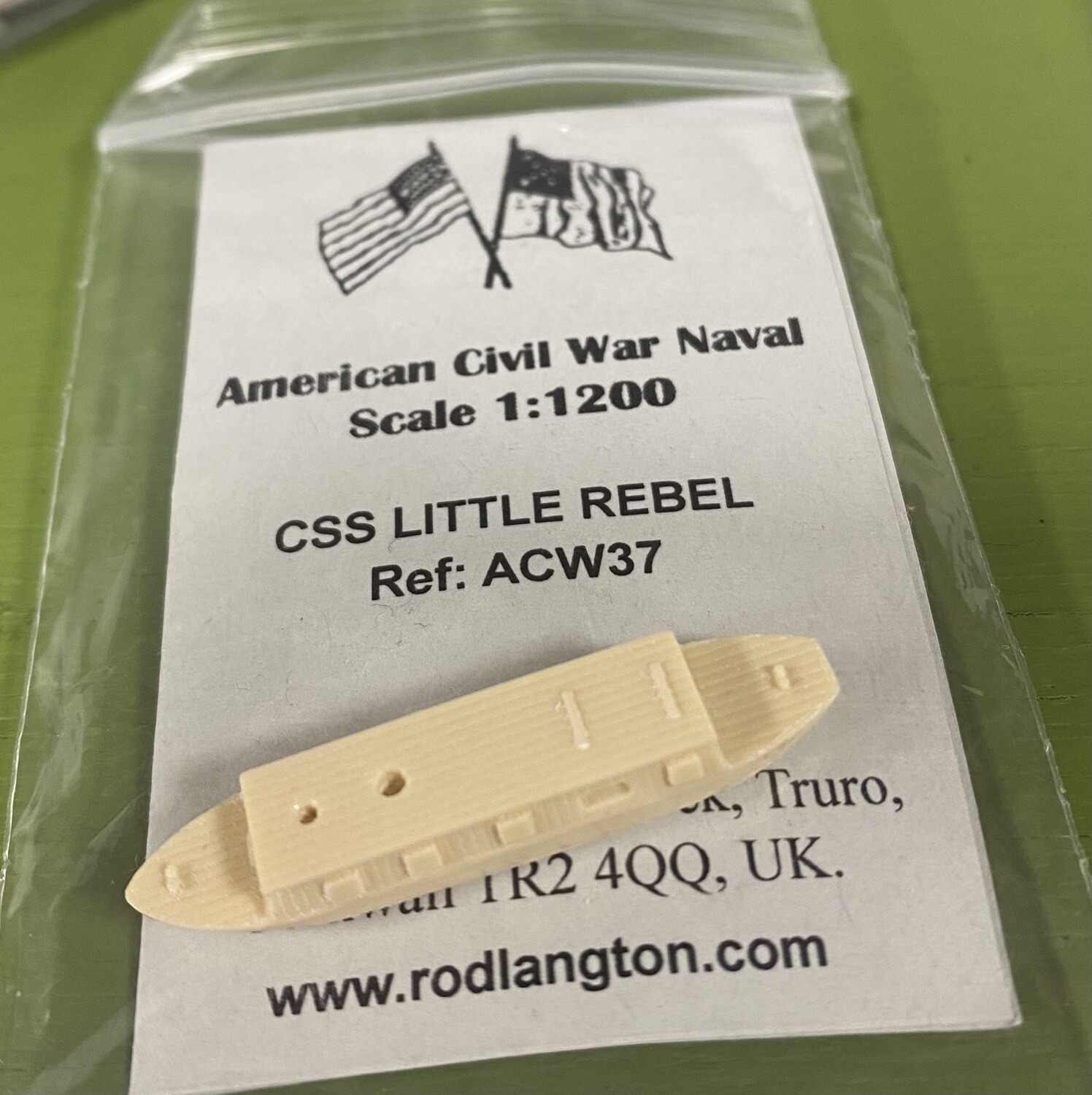 ACW37 CSS Little Rebel gunboat