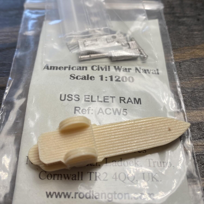 ACW5 Union Ellet Ram sidewheeler