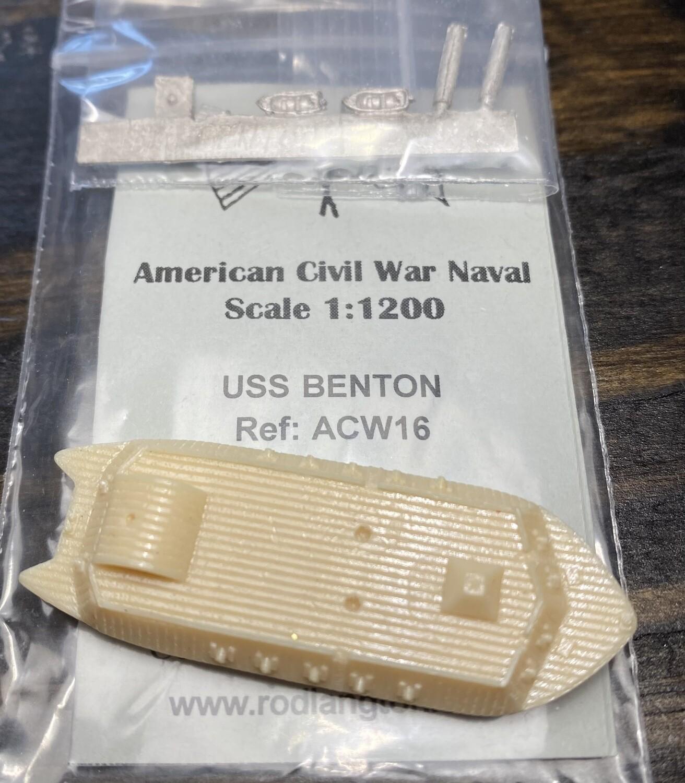 ACW16 USS Benton ironclad