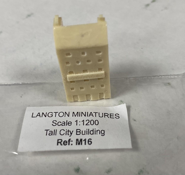 M16 Tall City Building