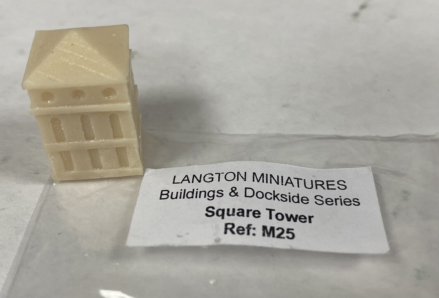 M25 Square Tower (resin)