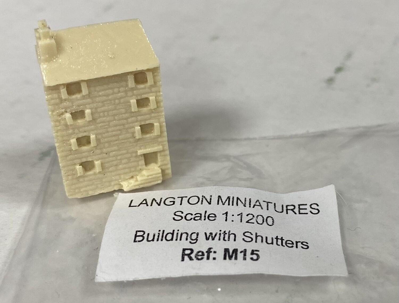M15 Building w shutters