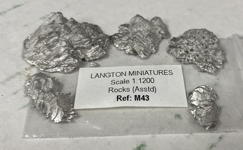 M43 Rocks (5 assorted)