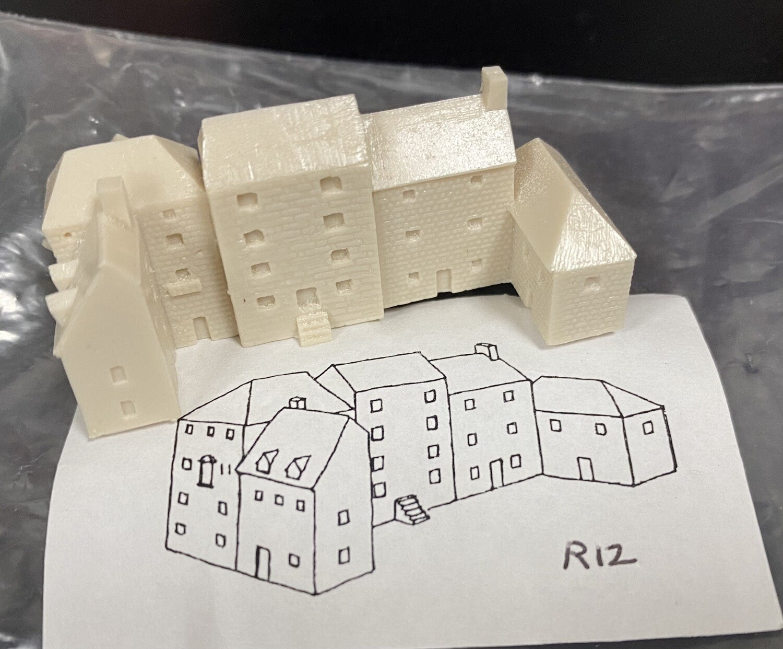 R12 C-shaped 50x20 h22mm