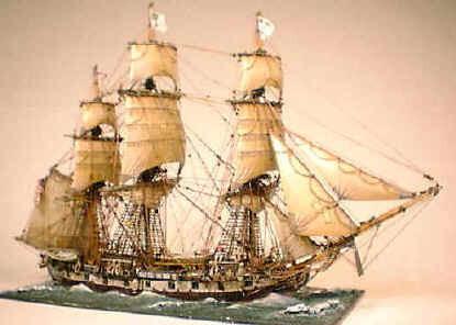 1/300 sloop of war Wasp