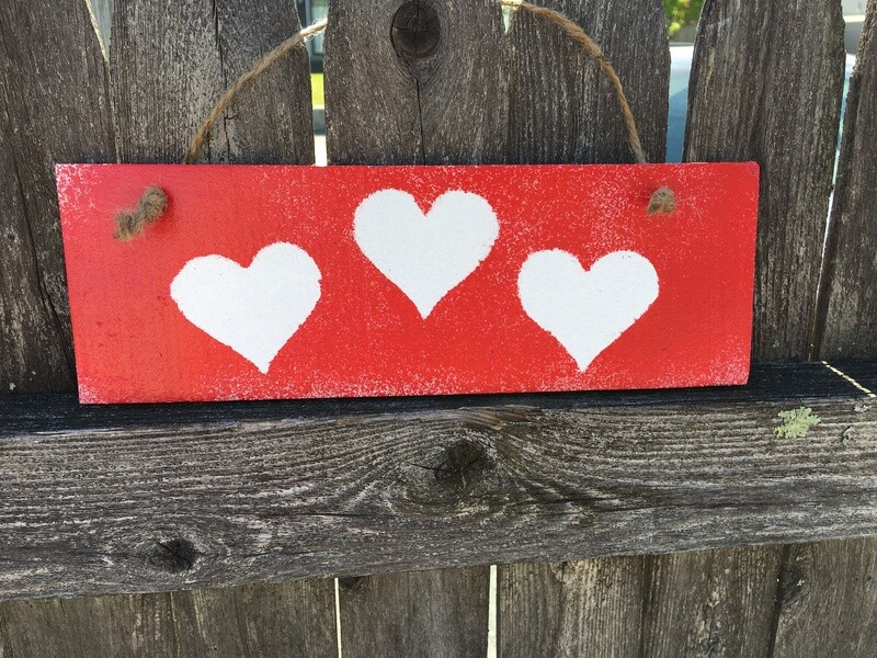Three Hearts (Red) ❤️❤️❤️