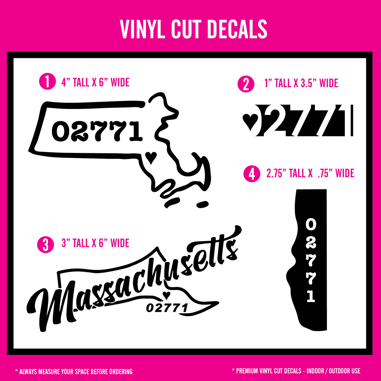 Seekonk - Vinyl Decals