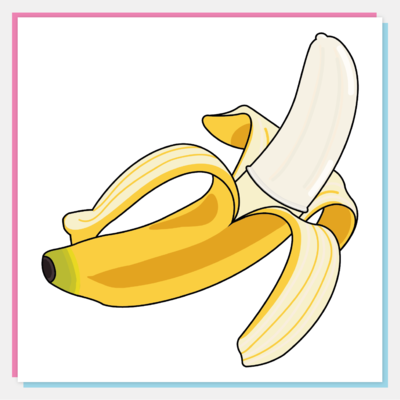 Banana Vinyl Sticker