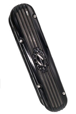BilletSpecialties LS3 Valve Cover (Modular Ribbed Profile BLACK)