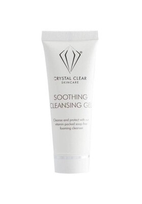 CRYSTAL CLEAR SOOTHING CLEANSING GEL- 25ml